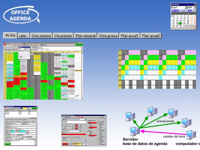 Agenda Consultorio Medico : software agenda calendario para horarios ...